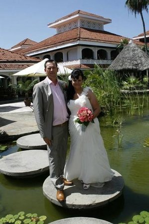 Sarova Whitesands Beach Resort & Spa: the wedding