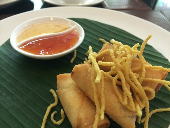 Novotel Phuket Kata Avista Resort and Spa: Spring rolls for lunch