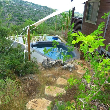 Smadar beClil Cabins: The new ecological pool 2