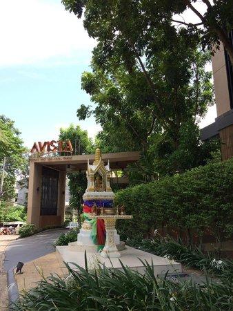 Novotel Phuket Kata Avista Resort and Spa: Entrance to hotel