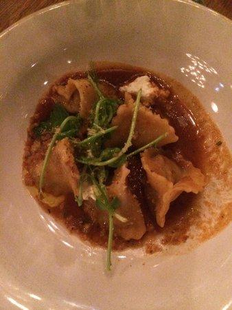 Jamies Restaurant: Lamb and ricotta tortellini