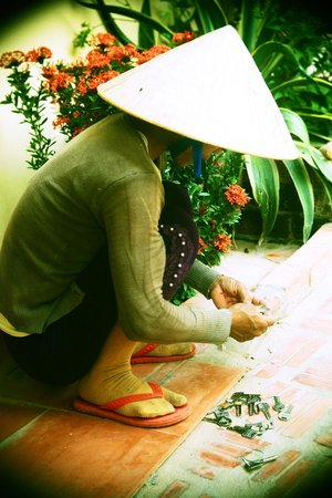 Viet Thanh Resort: Housemaid is searching for the right key :)