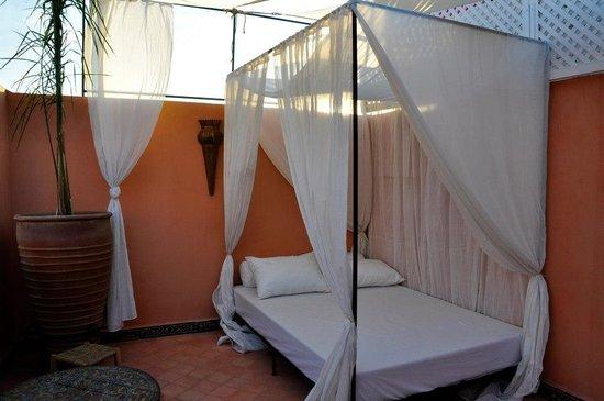 Riad Palau: the terrace