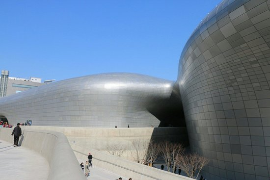 Dongdaemun History & Culture Park: DDP at Dongdaemun History And Culture Park.