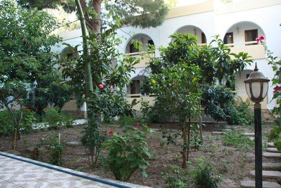 Anil Hotel: каждый номер отеля выходит в садик
