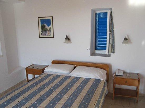 Hotel Mykonos Beach: Double Bed