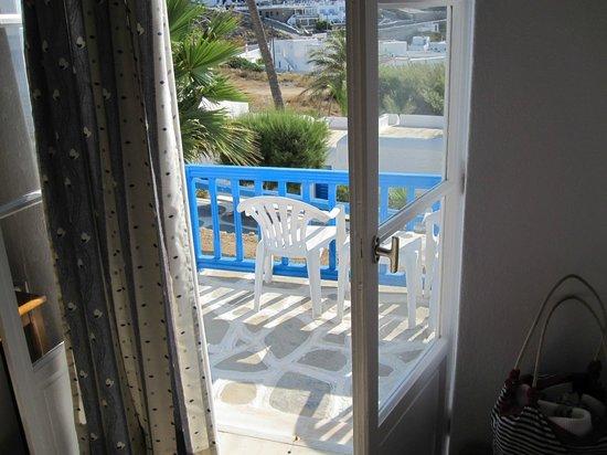 Hotel Mykonos Beach: Seaview Balcony