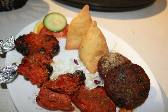 Indian Affair In The City: Mix Platter for 2