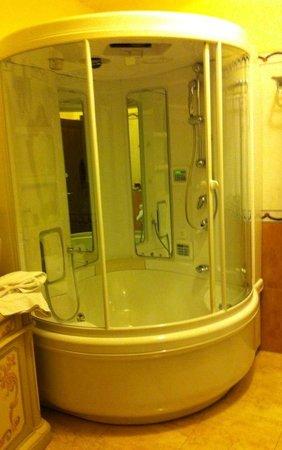 Grand Hotel President Olbia: vasca idromassaggio + sauna favoloso