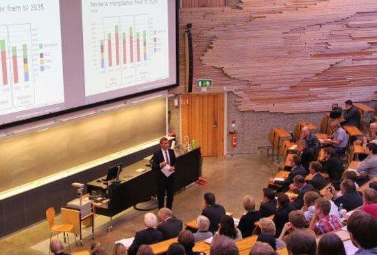 Norges Teknisk-Naturvitenskapelige Universitet, NTNU: one of the classes
