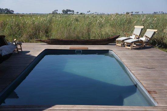 Great Plains Conservation Selinda Camp: Lovely pool.