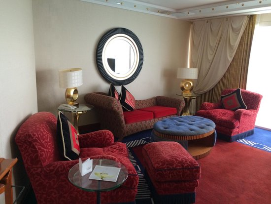 Burj Al Arab Jumeirah: Camera da letto