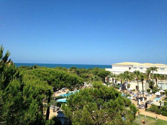 Valentin Sancti Petri Hotel Chiclana: Vista desde nuestra habitación