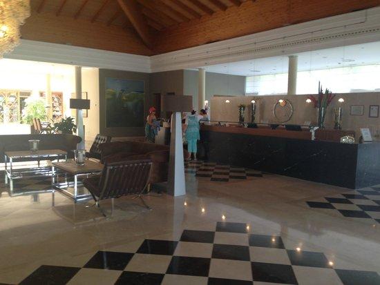 Valentin Sancti Petri Hotel Chiclana: recepción