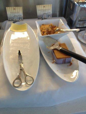 Hotell Refsnes Gods: Poor breakfast