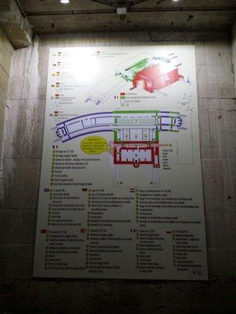 Blockhaus d'Eperlecques : Bunker map
