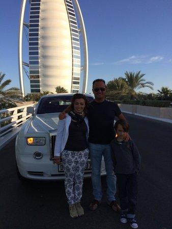 Burj Al Arab Jumeirah: Partenza.... Fine vacanza