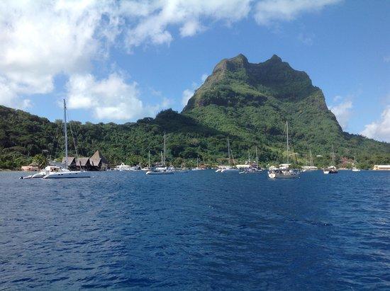 Mai Kai Bora Bora : Mai Kai Marina, Bora Bora - Seeseite