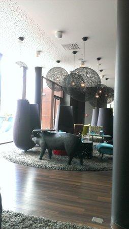 Motel One Wien-Prater: Lounge
