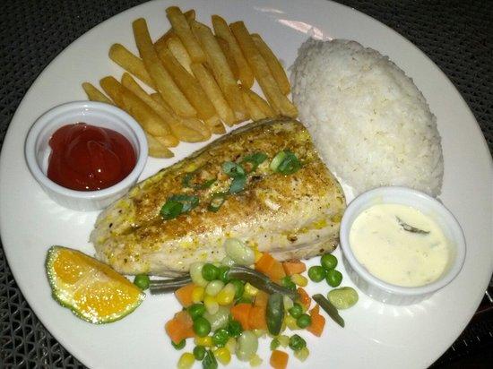 Arnold's Restaurant: Grilled Fish Steak Set