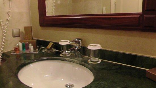 Rixos President Astana Hotel: Particolare lavello