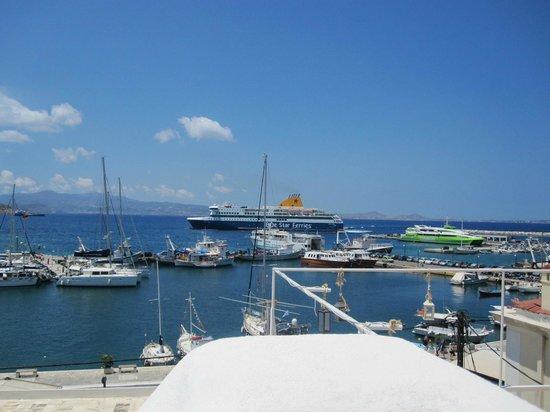 Naxos By, Grækenland: Port View
