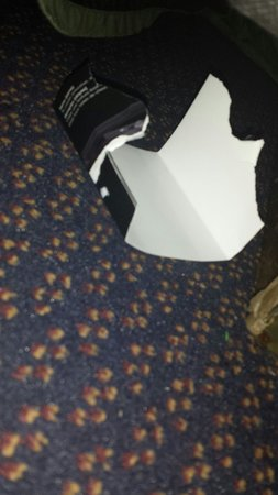 Ramada Newburgh/West Point: Boxes under my bed