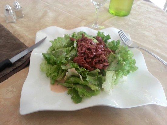 La Montagne Noire : Salade de gésier