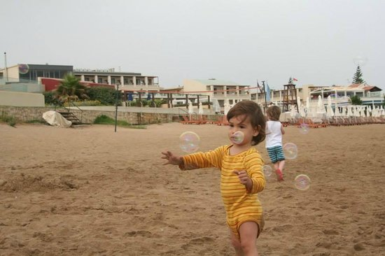 Ammos Hotel: bubbles...