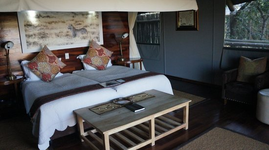 Chitabe Lediba Camp : Absolutely gorgeous room interiors.