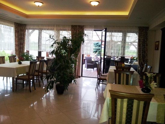 Hotel Panorama: the dinning room