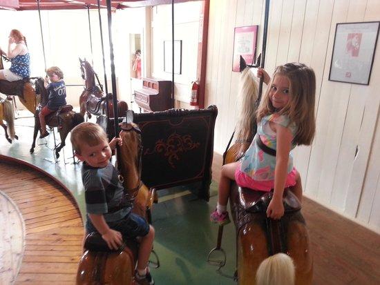 Flying Horses Carousel: Flying Horses