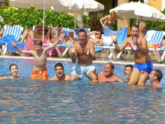 Bahia Principe Tenerife: altijd gezellig spelletjes