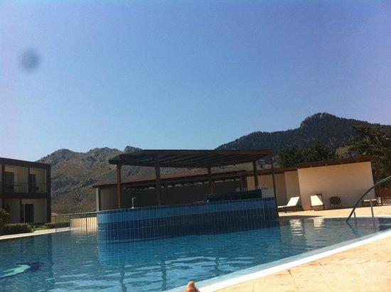 Hotel Anavadia: deuxième piscine