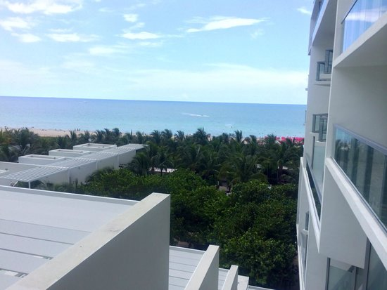 W South Beach: Not a bad view either