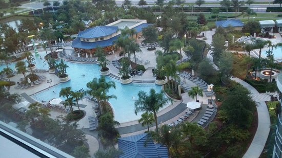 Hilton Orlando: View from 8th floor