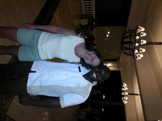 Grand Palladium Lady Hamilton Resort & Spa: me and my Jamaican brother Darrol!