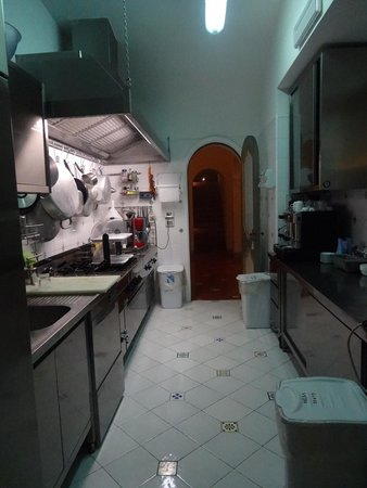 Villa dei Fisici: Fully Equipped Professional Kitchen