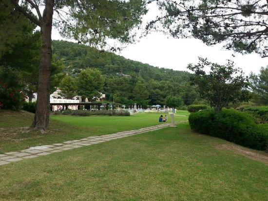 Residence I Delfini di Pugnochiuso: Giardini