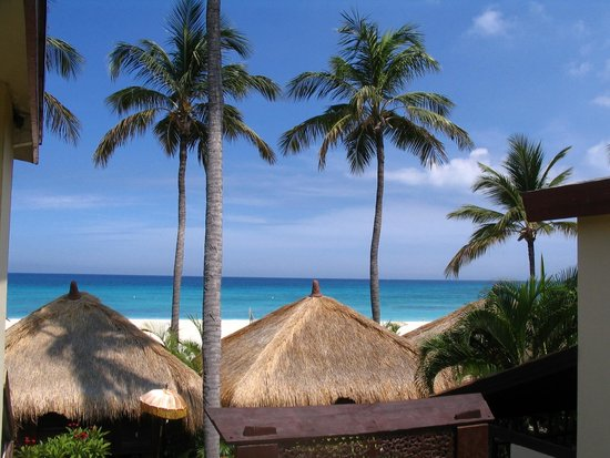 Manchebo Beach Resort & Spa : Uitzicht