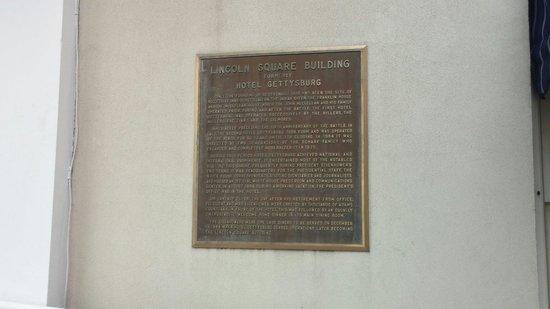 Gettysburg Hotel: History