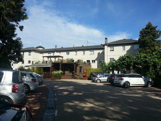 Hotel Rio Bidasoa: Hôtel avec le parking