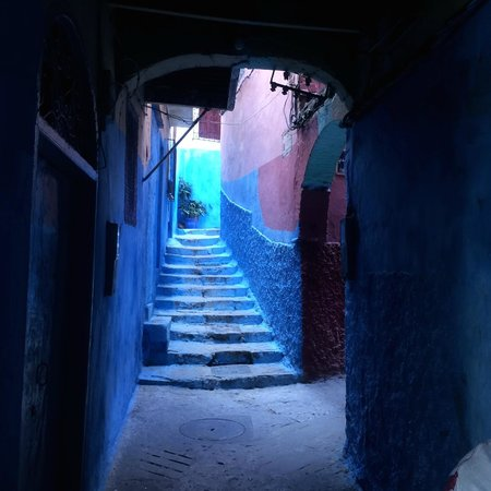 Tangier Casbah : Colorful Tangier