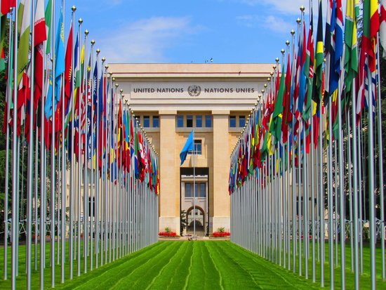 ‪Palais des Nations‬