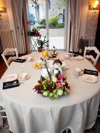 L'Escale Chambres d'Hôtes : la salle à manger