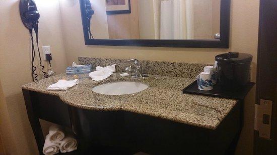 La Quinta Inn & Suites Houston Bush Intl Airport E: Banheiro
