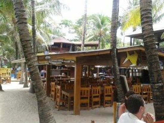 Bananarama Beach and Dive Resort: el restaurante y bar
