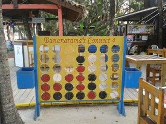 Bananarama Beach and Dive Resort: area recreativa