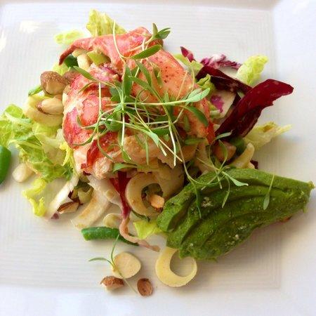 Auberge du Soleil Restaurant : Maine Lobster salad