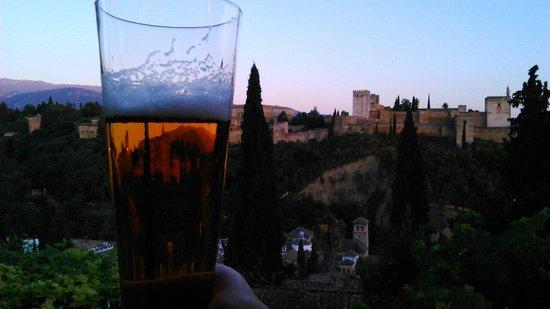 El Huerto de Juan Ranas : Así la cerveza sabe mucho mejor!!!